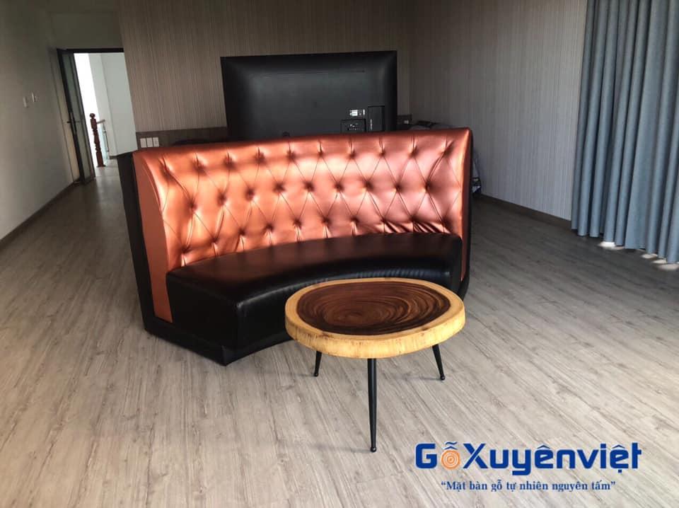 mẫu bàn sofa gỗ me tây