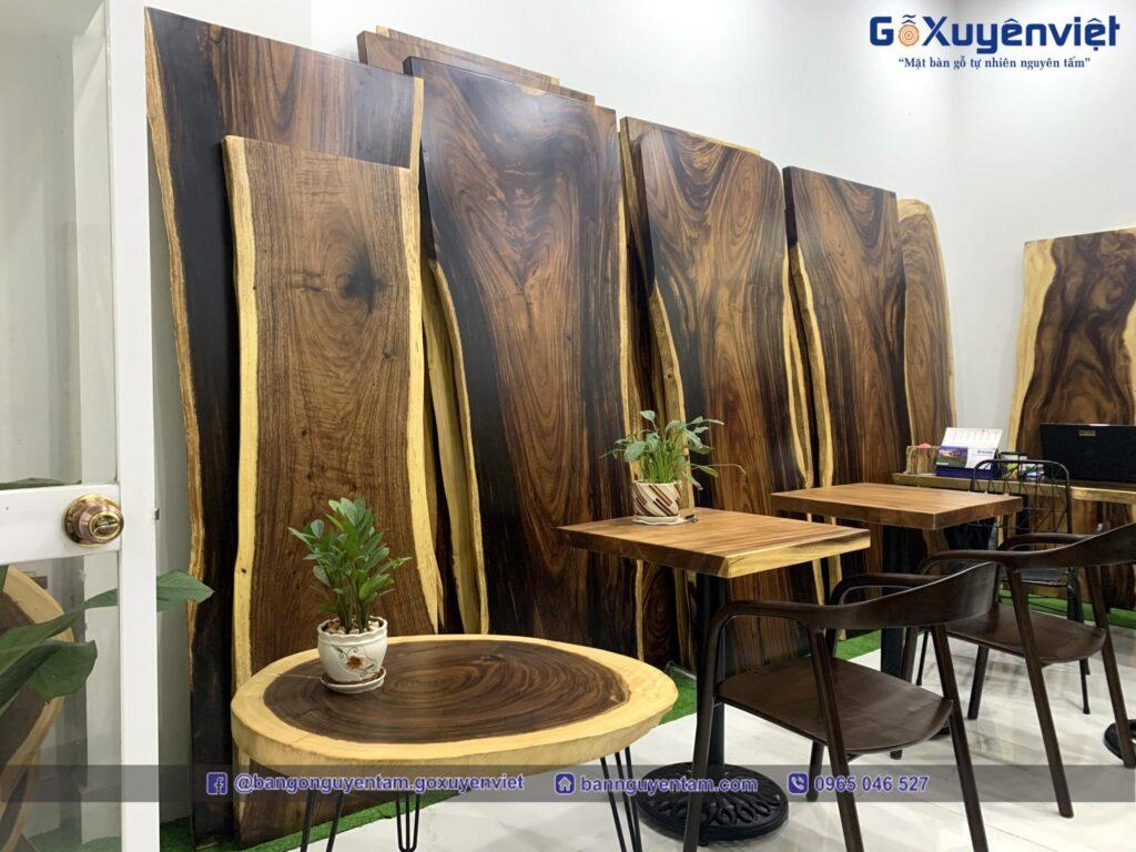 gỗ me tây nguyên khối