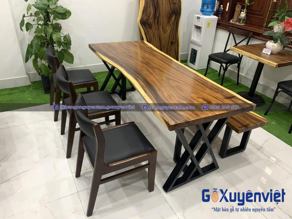 bàn gỗ me tây gỗ xuyên việt